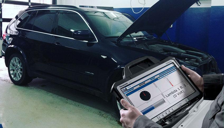 Диагностика двигателя БМВ Х5 Е70