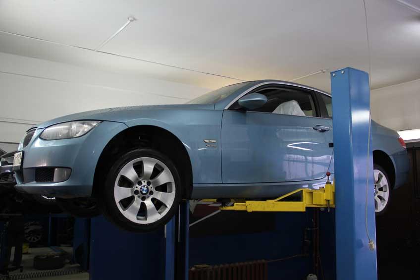Отремонтировали раздаточную коробку на BMW-е92