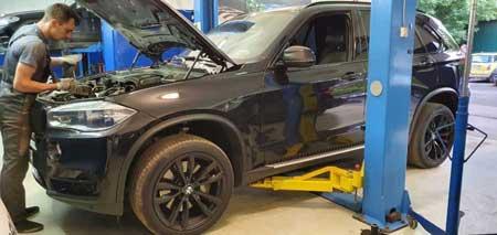 Замена компрессора кондиционера на BMW X5