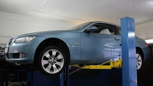 Ремонт раздатки на BMW-е92
