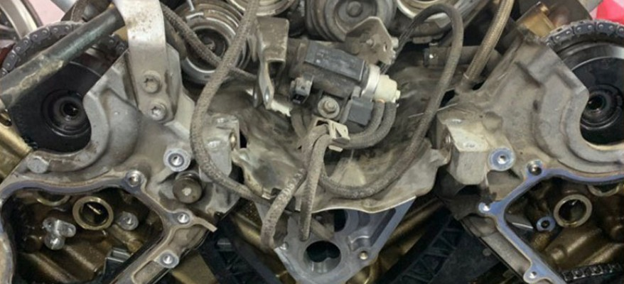 Ремонт двигателя БМВ F30, F31