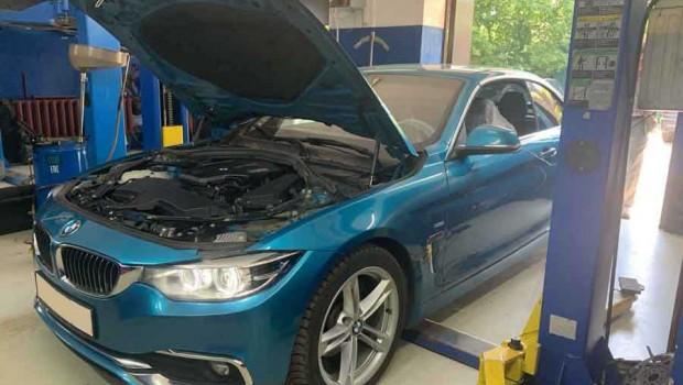 На ремонте сегодня — BMW F33 420D