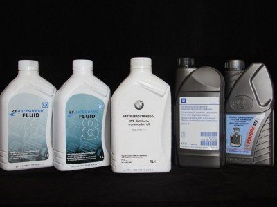 Замена масла в АКПП БМВ