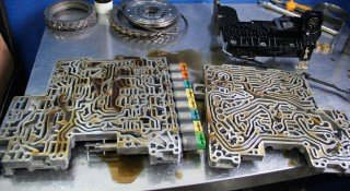 Промывка гидроблока АКПП БМВ 6HP26