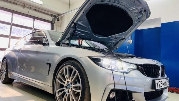 Установка NBT EVO BMW F32