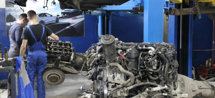 Ремонт двигателя БМВ - Техцентр