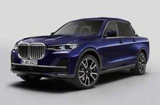 BMW выпустил X7 в виде пикапа