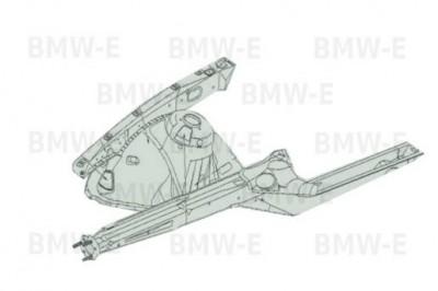 Лонжерон правый БМВ Е39