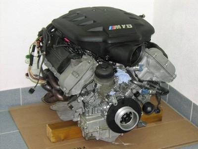 Двигатель БМВ - S65