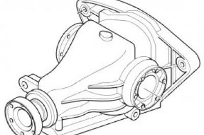 Редуктор БМВ Е39 М5 - 3,15
