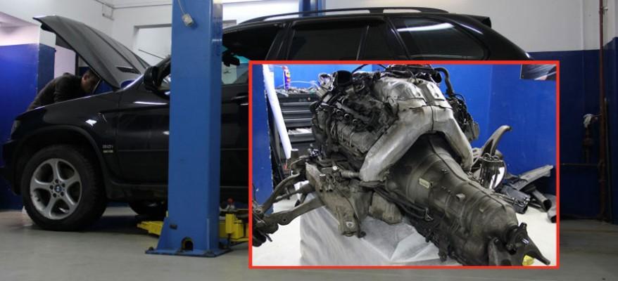 Ремонт двигателя БМВ Е53 Х5