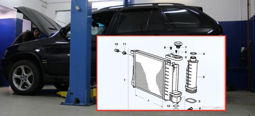 Ремонт системы охлаждения БМВ Х5 Е53